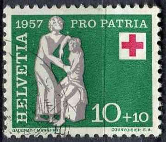 SUISSE 1957 OBLITERE N° 591