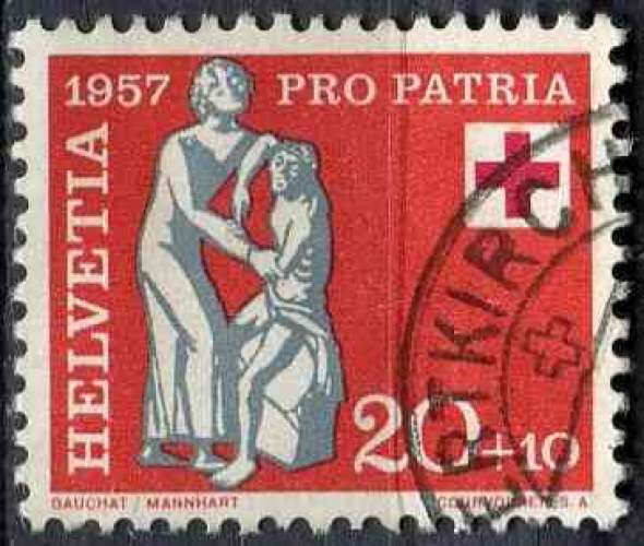 SUISSE 1957 OBLITERE N° 592