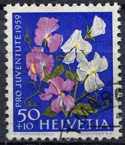 SUISSE 1959 OBLITERE N° 638