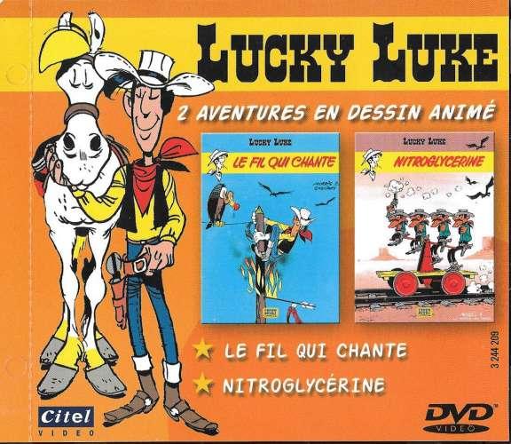 DVD - Lucky Luke - 2 aventures en dessin animé - excellent état