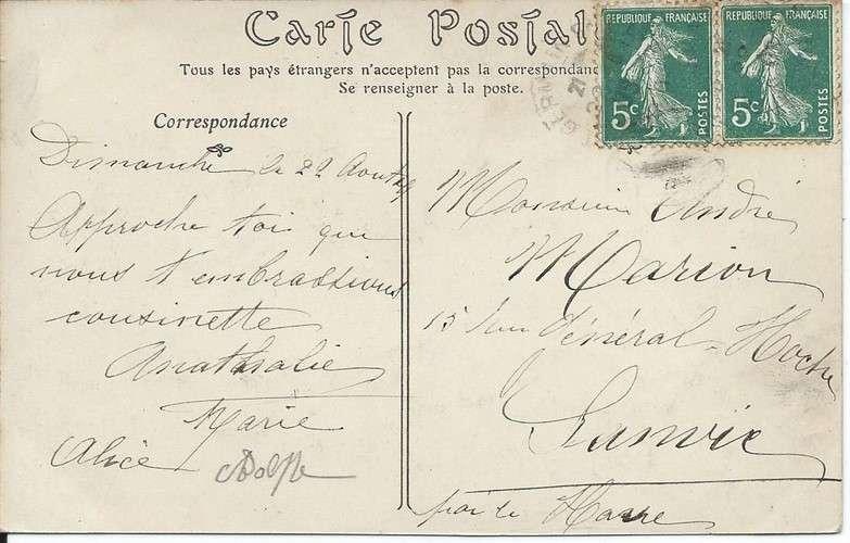 CPA - 78 - Saint-Germain en Laye - Pavillon Henri IV - Automobile - Dos scanné