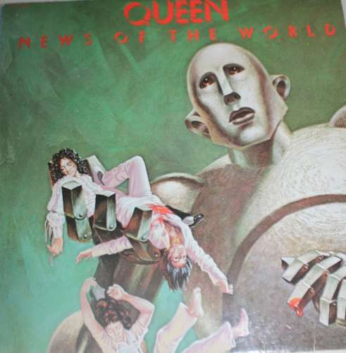 Vinyle 1977 Queen News of the world Pathé Marconi EMI 2C 068 6860033