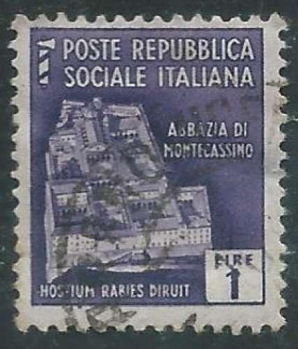 Italie - République sociale - Y&T 0035 (o)