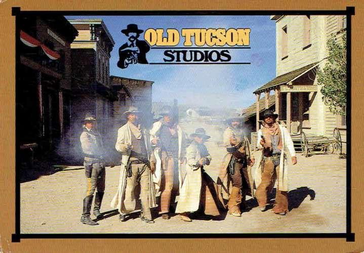 TUCSON : Old Tucson Studios - Affr Philatélique