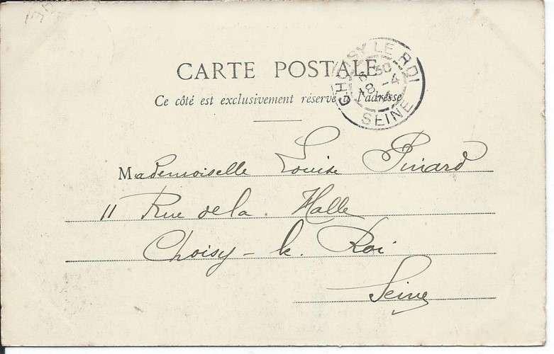 CPA - 72 - La Flèche - Place Henri IV - Année - 1904 - Dos scanné