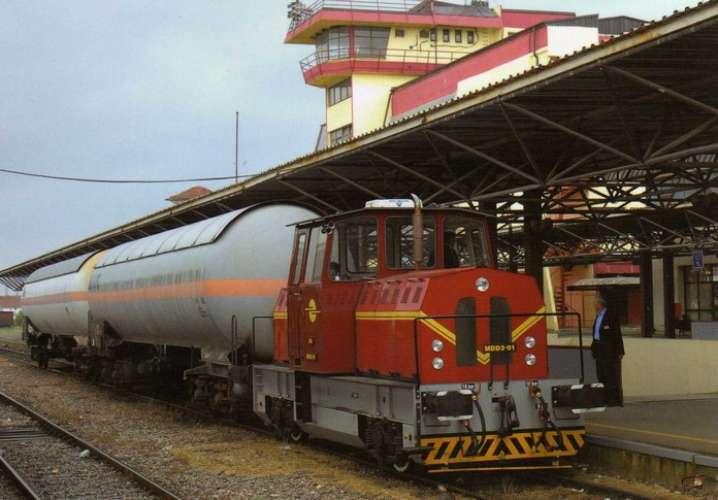 ART GTR 10 - Train - locotracteur MDD3 01 en gare - KOSOVO POLJE - Kosovo - HK
