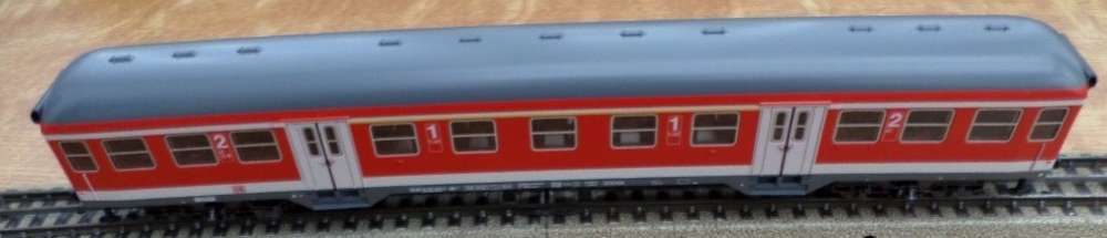 marklin -ho- voiture 1ere et 2 eme classe - db - 4 essieux