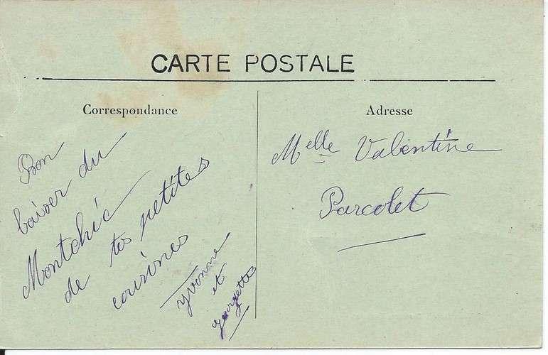 CPA - 33 - Moutchic - Lac de Lacanau - Sanatorium - Danses rythmées - Dos scanné