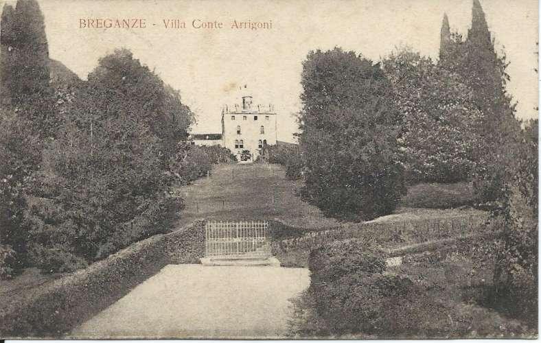 CPA - Italie - Breganze - Villa Conte Arrigoni - Correspondance militaire - 1918 - Dos scanné