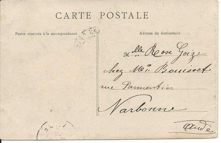 CPA - 64 - Salies-de-Béarn - Château de Dieusabeau - Ferme Baillense - Dos scanné