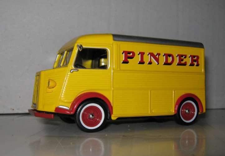 ALTAYA - Citroën H - Pinder - Ravitaillement