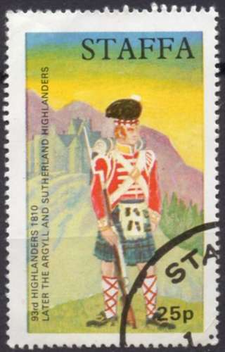 4759 - oblitéré - Highlander - Staffa
