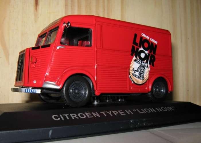 Altaya - Citroën H - Cirage LION NOIR - 75