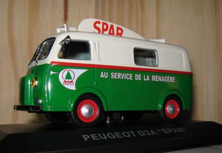 Altaya - Peugeot D3 - Magasin SPAR - 75