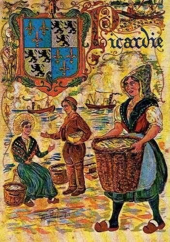 La PICARDIE : Armoiries et folklore