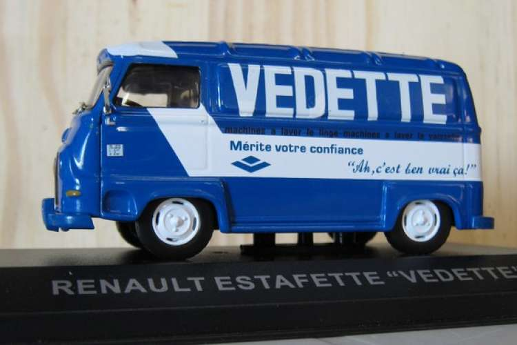Altaya - Renault Estafette - Machine à laver VEDETTE - 76