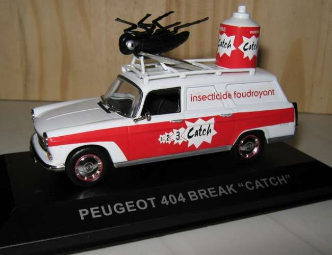 Altaya - Peugeot 404 - Insecticide CATCH - 69