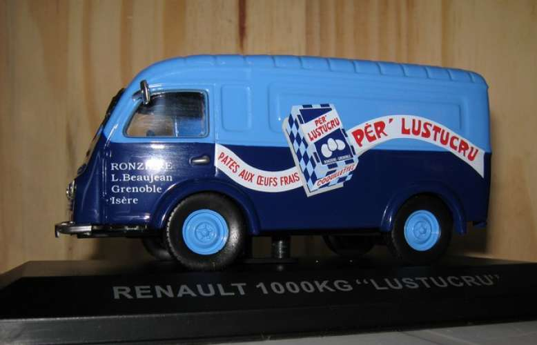 Altaya - Renault Goellete - Pâtes LUSTUCRU  - 38