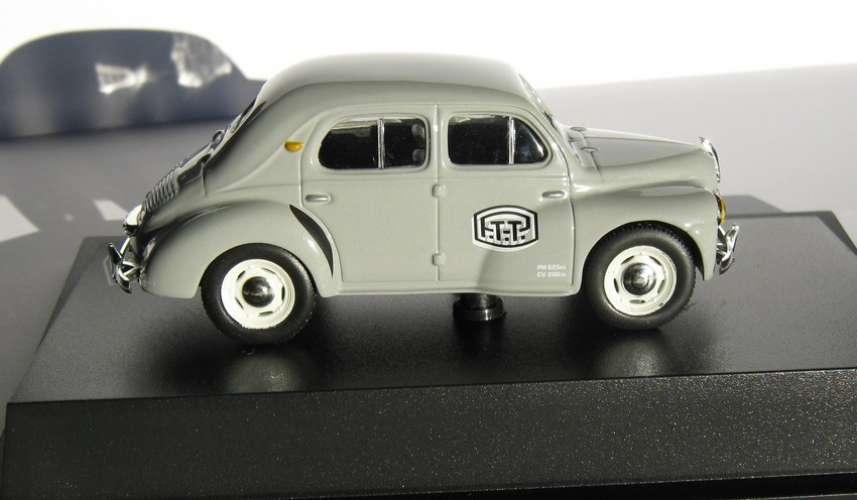 Norev - Renault 4 CV - PTT grise - Echelle 1/43 ème