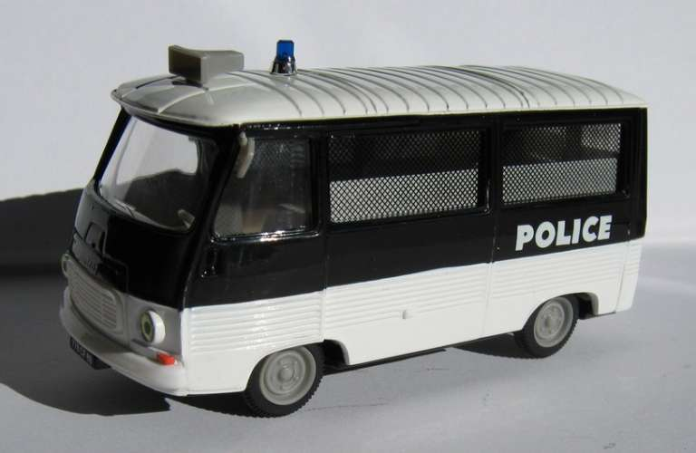 Norev - Peugeot J 7 - Car Police Secours - Echelle 1/43 ème