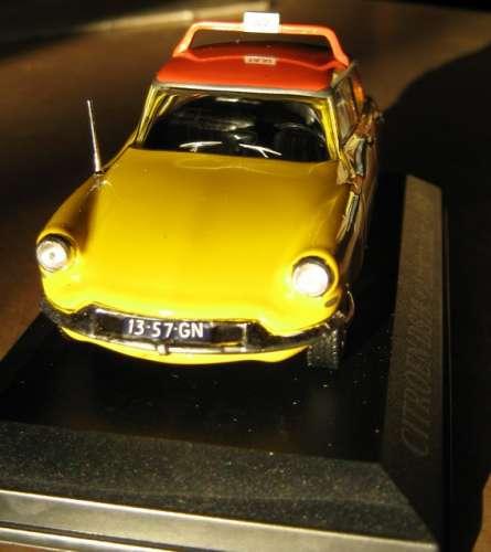 ALTAYA - Citroën DS - Taxi AMSTERDAM Pays-Bas - Echelle 1/43 ème -