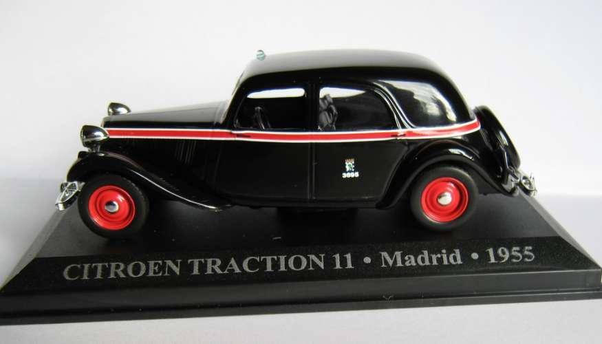 Altaya - Citroën Traction - Taxi MADRID - Espagne - Echelle 1/43 ème