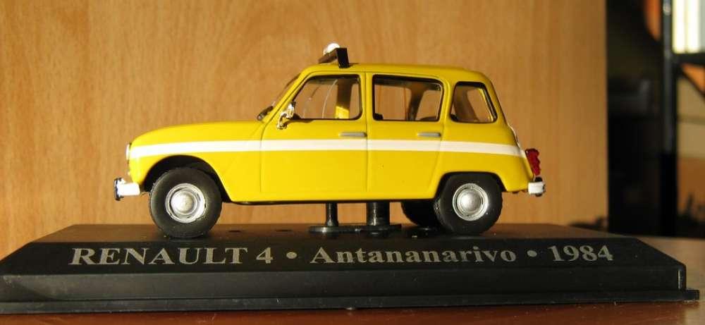 ALTAYA - Renault 4 L - Taxi de TANANARIVE - Madagascar - Echelle 1/43 ème -