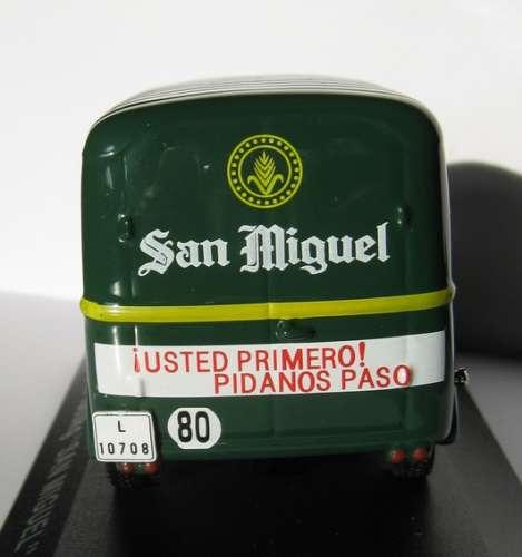 ALTAYA - Renault Goélette - Bière San Miguel - LERIDA - Espagne - Echelle 1/43