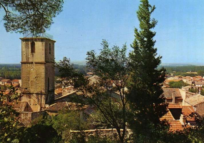 SEF 13001 - Vue générale de CHATEAURENARD - Bouches du Rhône
