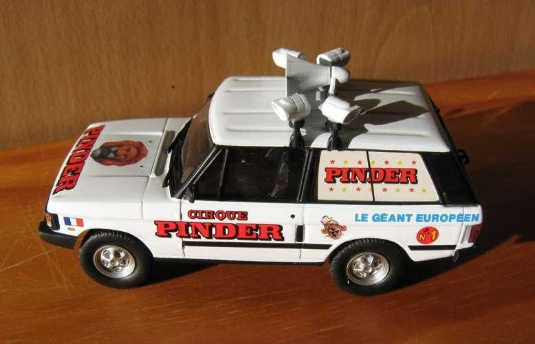 DIRECKT COLLECTIONS - Range Rover du directeur du cirque Pinder