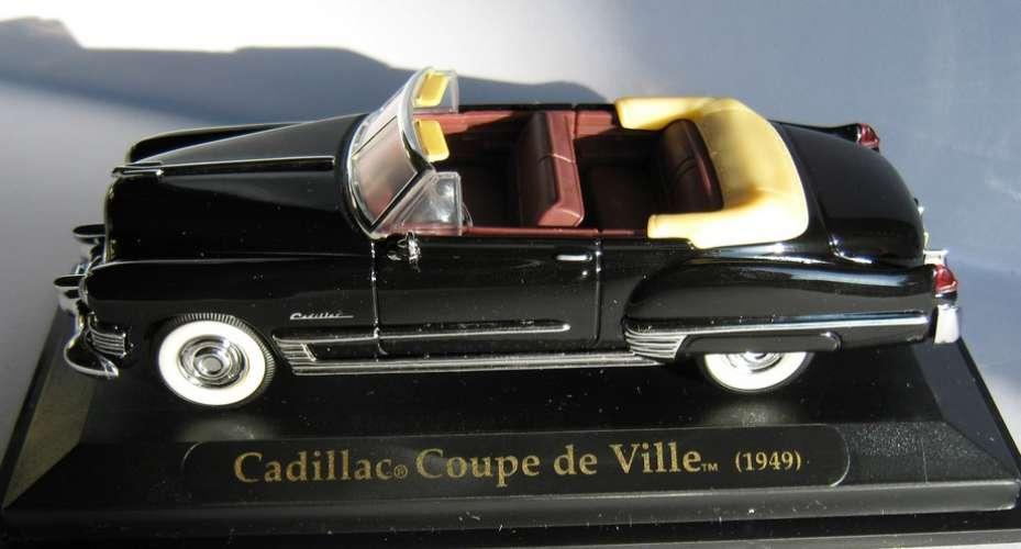 FABBRI - Cadillac coupé de ville - Echelle 1/43 ème