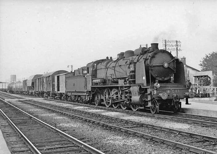 AL - Lot de 30 cartes postales modernes ferroviaires du Grand Ouest