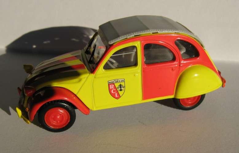 NOREV - Citroën 2 CV - Racing Club de Lens - Echelle 1/43 ème