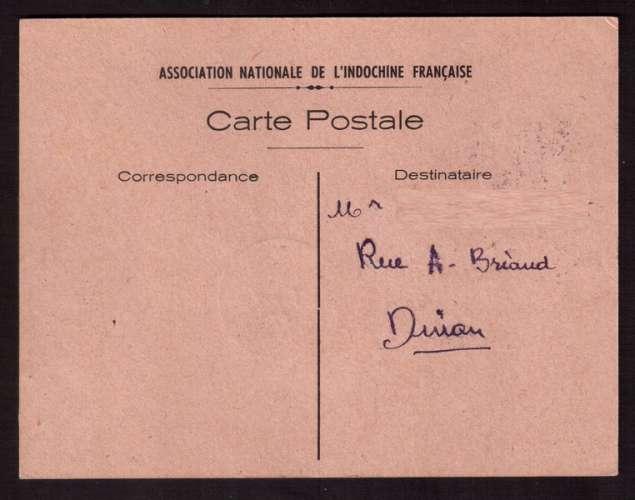 France 1947 Y&T 784  (o) Auguste Pavie 4 F 50 seul sur carte maximum centenaire 1-6-47 Dinan