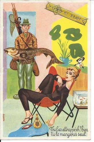 Carrière - Pêche à la ligne - Pin-up - Tu le mangeras seul - Série 419