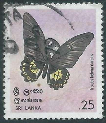 Sri Lanka - Y&T 0500 (o) - Papillons -