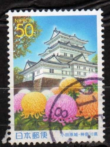 Japon - 2000 - n°2934 (YT)  Préfecture : Château Odawara (O)