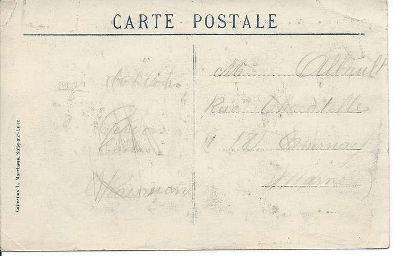 CPA - 45 - Vienne-en-Val - Voiture à Chien - Facteur - Poste de Campagne - Attelage - 1913