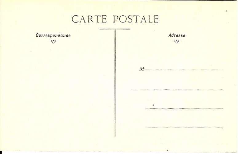 CPA - 95 - Pontoise - Boulevard des Fossés et rue de Gisors - Dos scanné