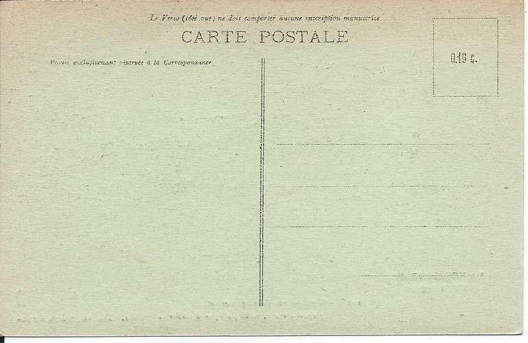 CPA - Normandie Pittoresque - Ane - Dos scanné