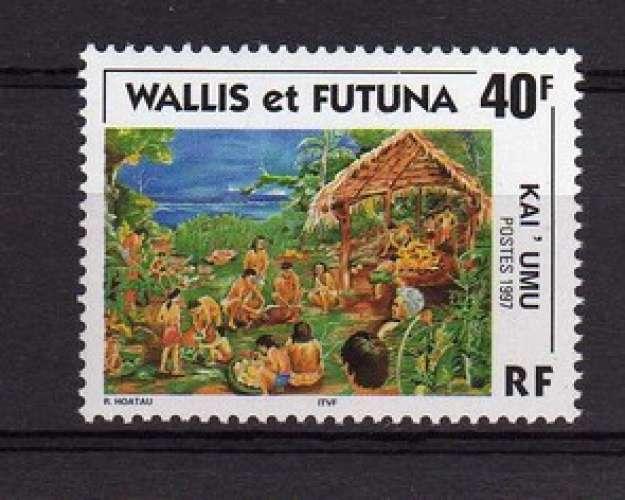 FRANCE - WALLIS ET FUTUNA - YT 504 - Kai'umu