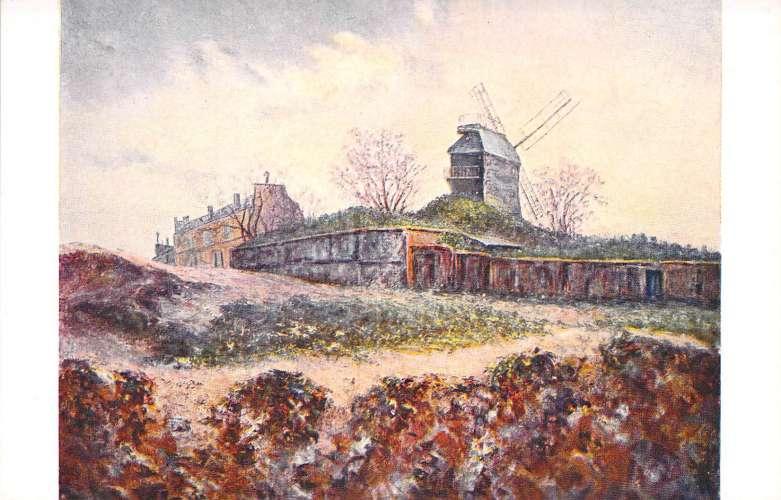 La Breuille Pinxit - Le Moulin de la Galette - Salon de Paris - Illustrateur