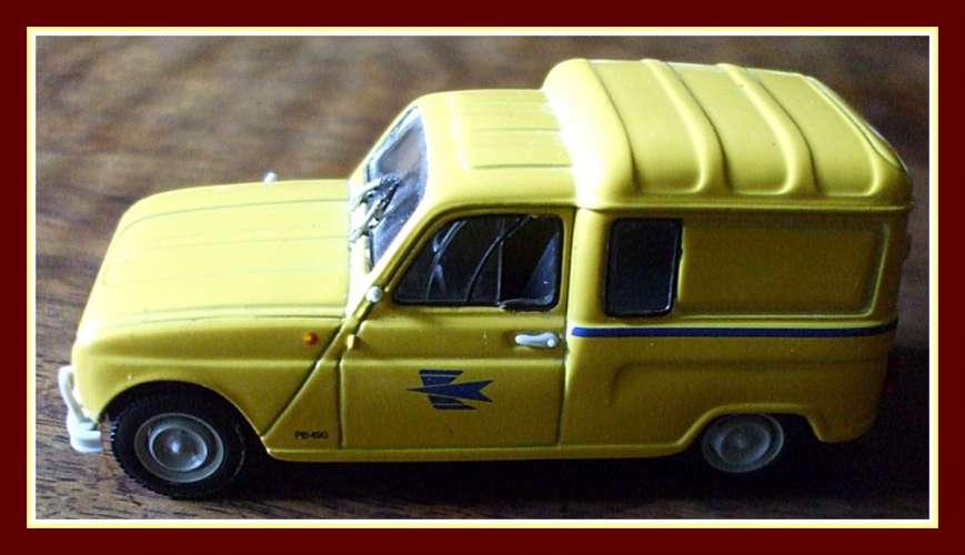 Renault 4 PTT 1962 Norev 1/43é