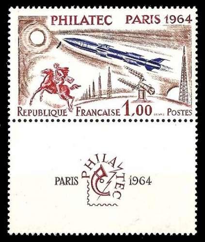 France - Y&T 1422 ** Philatec - année 1964