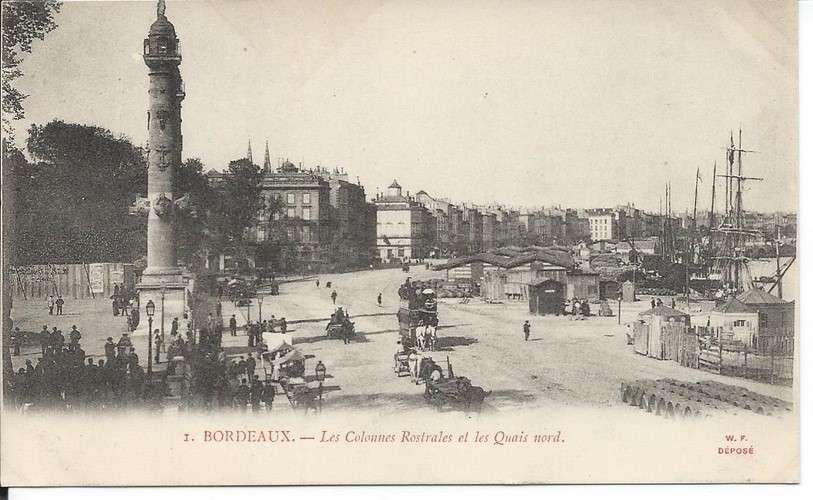 Lot de 17 CPA - 33 - Bordeaux - Toutes scannées