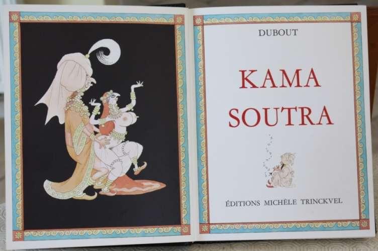 LIVRE KAMA SOUTRA ILLUSTRE PAR DUBOUT - PORT OFFERT