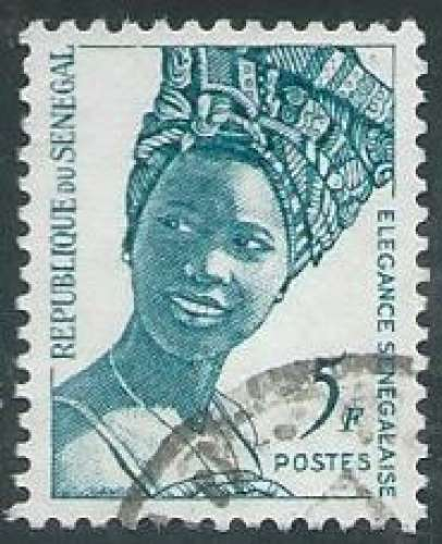 Sénégal - Y&T 0554 (o) - Elégance sénégalaise -