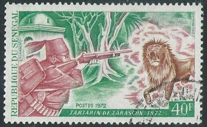 Sénégal - Y&T 0366 (o) - Alphonse Daudet -