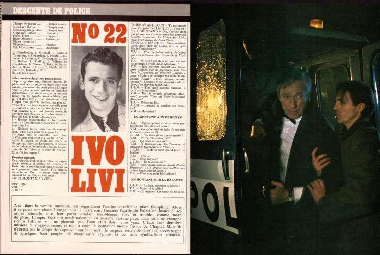 Magazine Rock & Folk n° 206 mars 84 Scorpions - descente de police : Montand - John Cougar...
