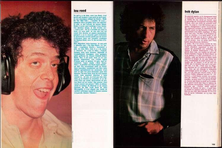 Magazine Rock & Folk n° 210 juill-août 84 n° double rêves de fans - Bruce Springsteen - Deep Purple